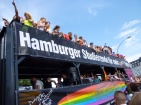 "The ""Hamburg Students for more queer Diversity"" float"