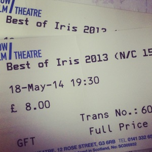 Iris Prize Tickets